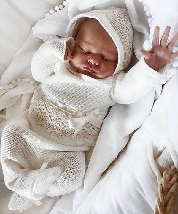 Conjunto bebé Punto Amarillo 3 piezas 3m - Todo para mi bebé ❤️