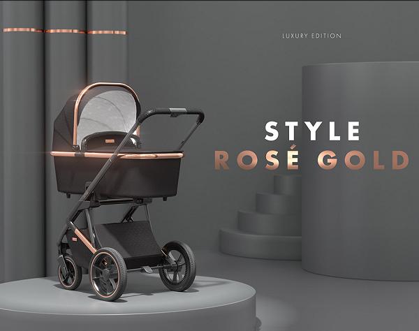 PREMIUM. ÚNICO. ESPECIAL. SOLITAIRE edición limitada ROSE ™ es un carro que marca la diferencia. Diseñado y desarrollado para los más exigentes